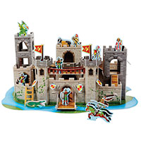 3-D Puzzle Playsets