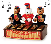 Unique Gift Ideas - Bandstand Bears
