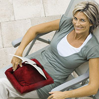 Our comfy book pillow is a great gift for Mom
