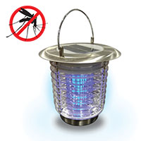 Solar Bug Zapper and Lantern