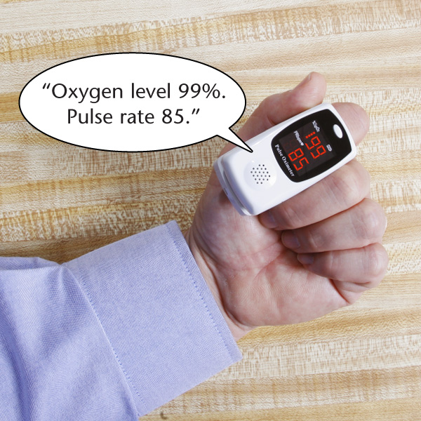 Talking Pulse Oximeter