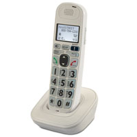 Deluxe Big Button Amplified Cordless Phone Expandable Handset