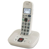 Deluxe Big Button Amplified Cordless Phone