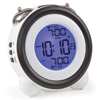 Digital Atomic Twin Bell Alarm Clock