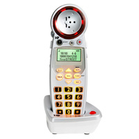 Deluxe Amplified Cordless Phone Expandable Handset