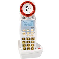 Deluxe Amplified Cordless Phone III Expandable Handset