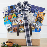 Gourmet Tidings Holiday Gift Basket