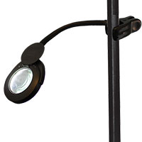 Klip On Magnifier Lamp