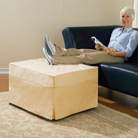 Overnight Ottoman with Cover