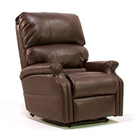 Perfect Sleep Chair Petite Leather