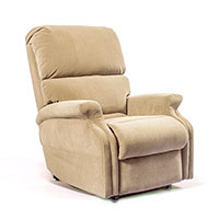 Perfect Sleep Chair Petite Microfiber