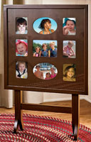 Photo Frame Table