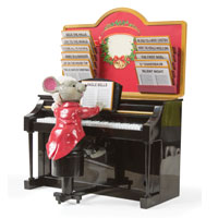 Christmas Piano Mouse