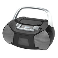 Portable CD/Cassette Boombox