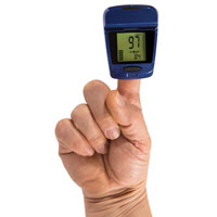 Pulse Oximeter with Pedometer