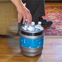 Remote Control Rolling Cooler