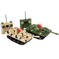 R/C Battle Tanks - Set of 2