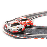 Compact Slot Car Racing Set
