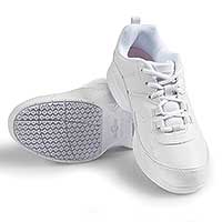 Sturdy Slip-Resistant Men's Shoes - White
