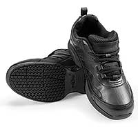 Sturdy Slip-Resistant Men's Shoes - Black
