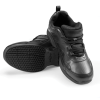 Sturdy Slip-Resistant Women's Shoes - Black