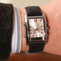 Stylish Vibrating Alarm Watch