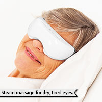 Warm Steam and Massage for Eyes