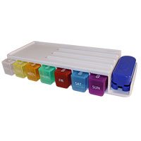 Weekly Pill Sorter and Organizer