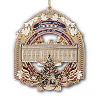 Collectible White House Ornaments