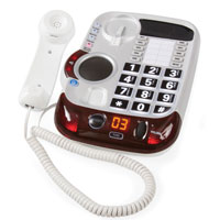 Deluxe Big Button Amplified Corded Speakerphone