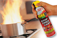 Anywhere Fire Suppressant