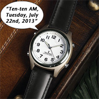 Atomic Talking Watch
