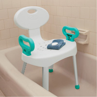 Bath & Shower Seat with Handles