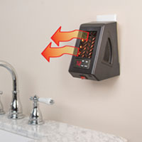 Compact Bathroom Heater