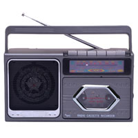 Boomer Box Radio with Cassette