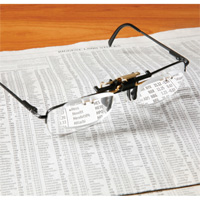 Clip-On Reading Glasses