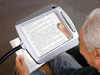 Lighted Full Page Reading Magnifier