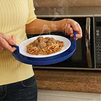 Cool Touch Microwave Tray