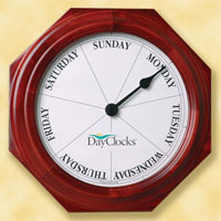 Our Day Clock is a great Gift for Grandparents