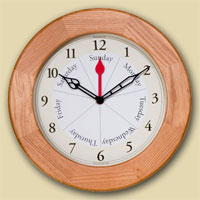 Unique Gifts for Grandparents - Day Clock Contemporary