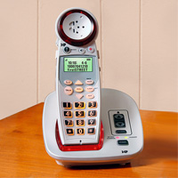 Deluxe Amplified Cordless Phone