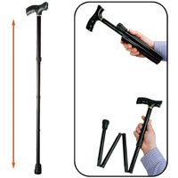 Deluxe Foldable Safety Cane