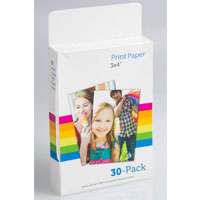 "3&quot X 4"" Print Paper for Deluxe Digital Instant Camera"