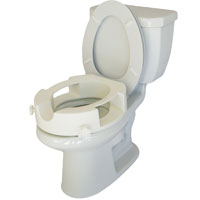Raised Easy-Access Toilet Seat