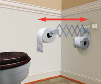 Easy Reach Bathroom Tissue Holder