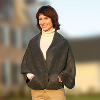 Fleece Pocket Cape