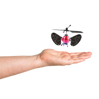 Hand-Controlled Flying Spaceship