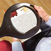 High-Power 5X Page Magnifier