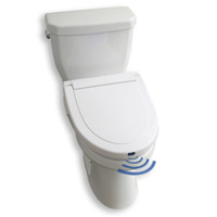 Hands-Free Toilet Seat