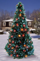 Indoor/Outdoor Pop-Up Christmas Tree